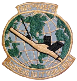 905th Air Refueling Squadron - Image: 905th Air Refueling Squadron SAC Patch