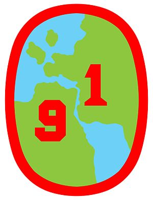 91st Division (Philippines) - 91st Philippine Division Emblem 1941-42