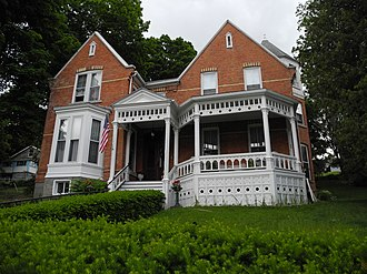 National Register of Historic Places listings in Schuyler County, New York - Image: A.F. Chapman House, Watkins Glen, NY