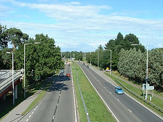 A31 road - Image: A31 Road at St. Leonards geograph.org.uk 37660
