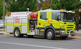 ACT Fire and Rescue - Image: ACT FB B3