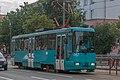 AKSM-60102 tram on Jakuba Kolasa street (Minsk, Belarus) — 2.jpg
