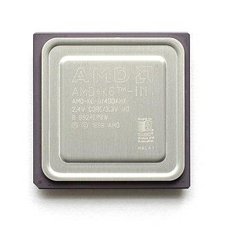 AMD K6-III - AMD K6-III 400 MHz Microprocessor