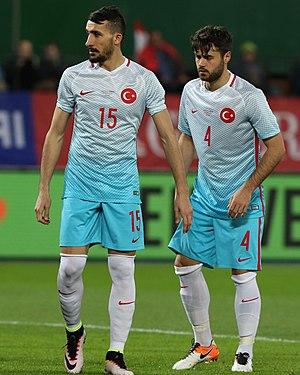 Mehmet Topal - Topal (left) alongside Ahmet Yılmaz Çalık