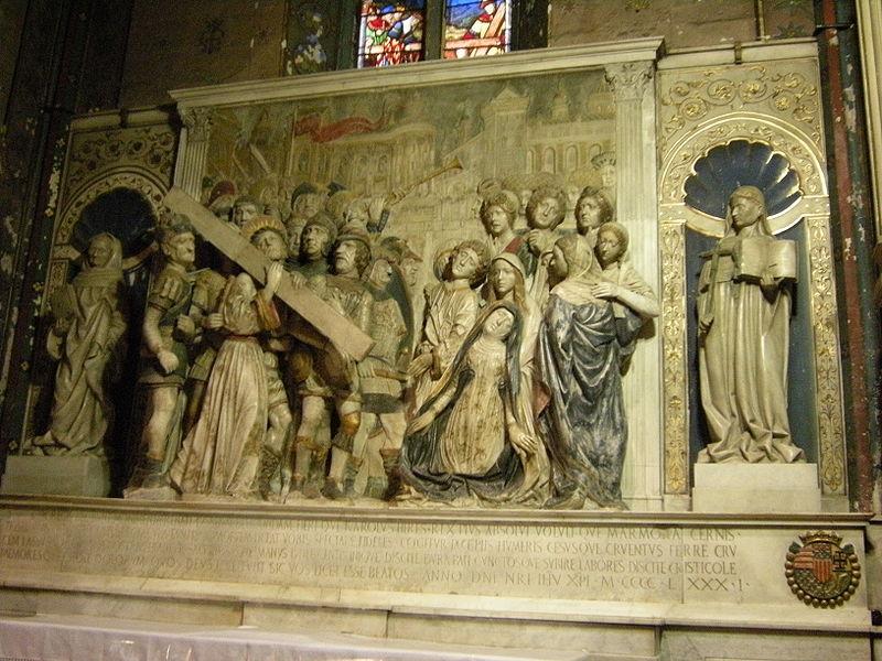 Fichier:A 049 église Saint Didier retable de Laurana.jpg
