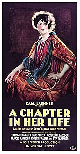 <i>A Chapter in Her Life</i> 1923 film by Lois Weber