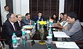 A Delegation of Bangladesh meeting the Minister of State (Independent Charge) for Power, Coal and New and Renewable Energy, Shri Piyush Goyal, in New Delhi on September 18, 2014.jpg
