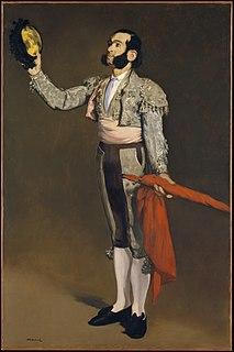 <i>The Matador Saluting</i> 1866-67 painting by Édouard Manet