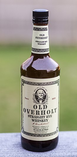Brands With D >> Rye whiskey - Wikipedia