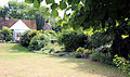 A flower bed and lawn Gibberd Garden Essex England.JPG