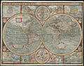 A new and accurat map of the world - Norman B. Leventhal Map Center at the BPL.jpg