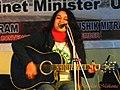 A performer in Zeitgeist 2013-14 at Lucknow Christian College - Flickr - Dr. Santulan Mahanta.jpg