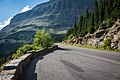 A pullout on Going to the Sun Road (32877400054).jpg