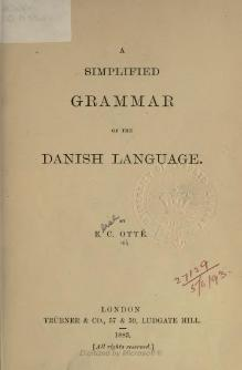A simplified grammar of the Danish language.djvu