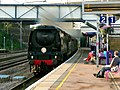 A surprise for the passengers - geograph.org.uk - 1421210.jpg