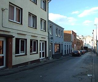 Antoniusstraße Street in Aachen, Germany