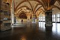 Aachen city hall, Pfeiler und Gewölbe im Nord- Ostbereich des Krönungssaals.jpg
