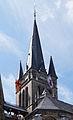 Aachener Dom Glockenturm Heiligtumsfahrt 2014.jpg