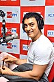 Aamir Khan at 92.7 BIG FM to promote Satyamev Jayate 07.jpg