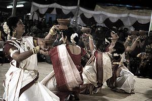 Gajra - Gajra are traditionally worn around hair bun.