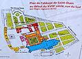 Abbaye Saint-Ouen de Rouen Plan.JPG