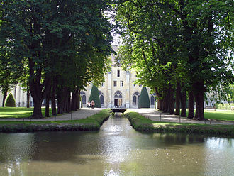 Royaumont Abbey - View of the abbey