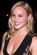 Abbie Cornish smiling at the camera