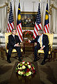 Abdullah Badawi with George Bush September 18, 2006.jpg