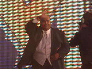 Abdullah the Butcher - Abdullah the Butcher at his WWE Hall of Fame induction in 2011.