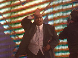 Abdullah the Butcher - Abdullah the Butcher at his WWE Hall of Fame induction in 2011