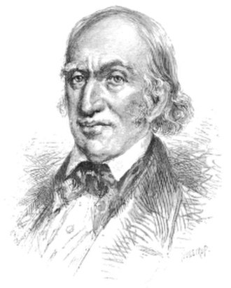 Crawford family of the White Mountains - Abel Crawford (1760s–1851), pioneer of tourist industry in the White Mountains of New Hampshire, drawn by Thomas Johnson