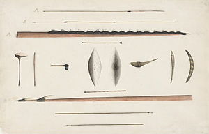 Gweagal - Aboriginal hunting implements and weapons