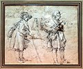 Abraham bloemaert, studio di figure di genere rurale, 1590-1640 ca. 02.jpg