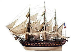 French ship Achille (1803) - the Achille