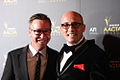 Adam Elliot (r) and guest, Aacta Awards 2012.jpg