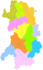 Administrative Division Yongzhou.png