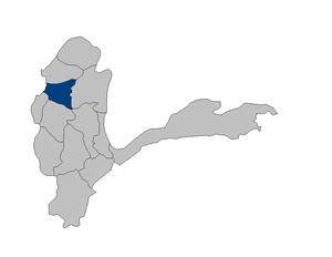 Kohistan District, Badakhshan - Image: Afghanistan Badakhshan Ragh district location