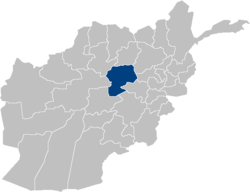 Afghanistan Bamyan Province location.PNG