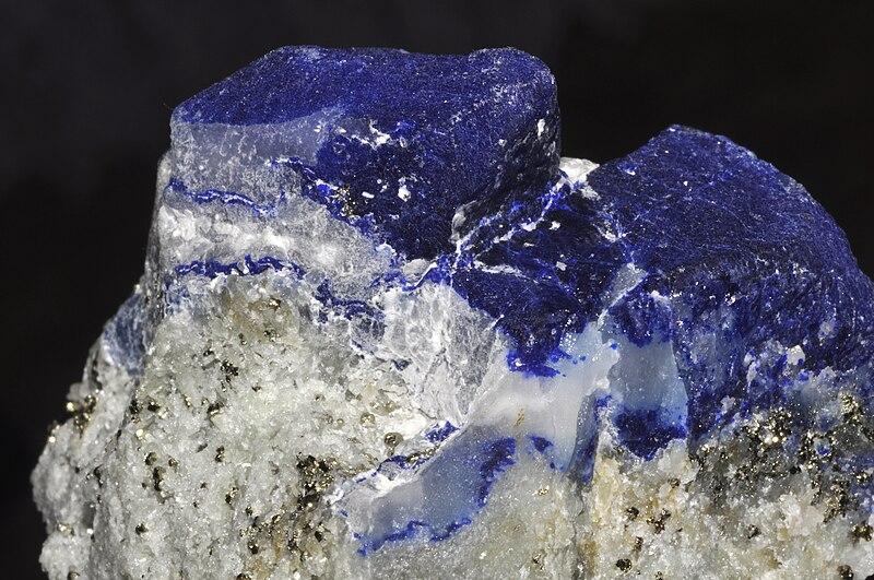 File:Afghanite, pyrite, calcite.jpg