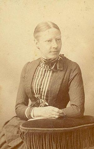 Agneta Matthes - Agneta Wilhelmina Johanna van Marken-Matthes in 1880