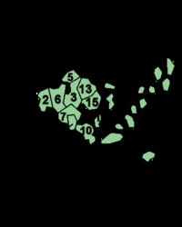 Die Städte und Gemeinden Ålands