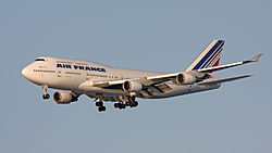 Un B747 Air France F-GITF
