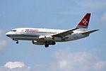 Air Malta Boeing 737-2Y5-Adv 9H-ABE (26190116863).jpg