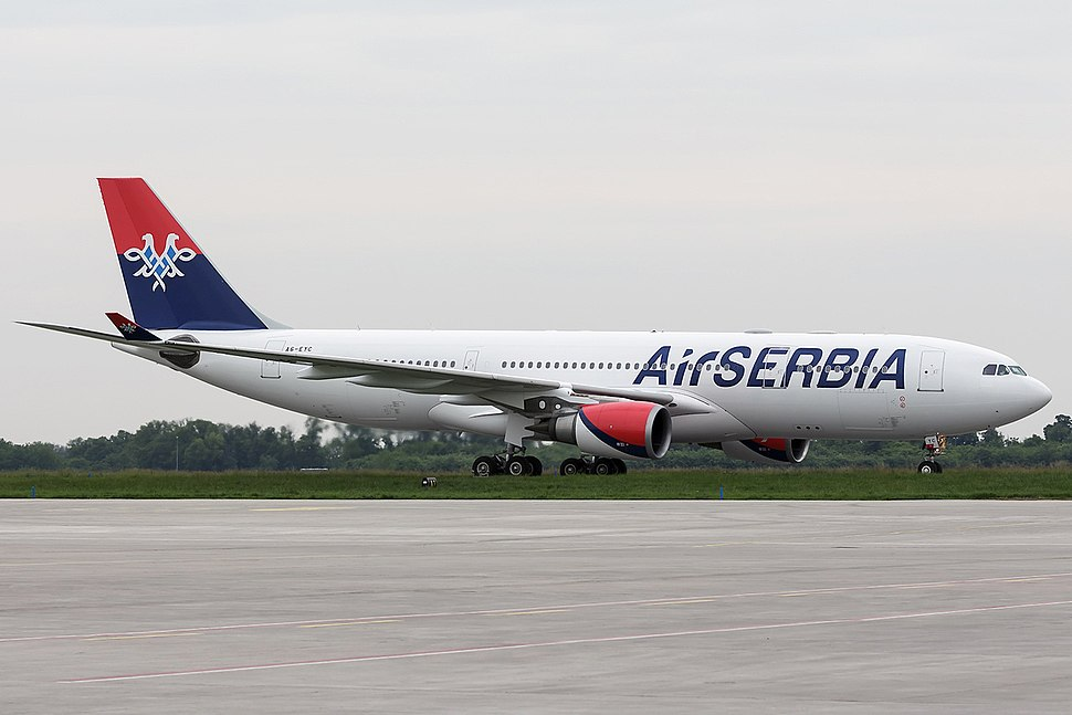Air Serbia's first Airbus A330-200 arrives at Belgrade Airport (2)