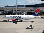 Air Serbia Airbus A319-132 - YU-APJ (ZRH) (18900607763).jpg
