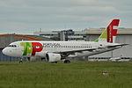 Airbus A319-100 TAP Portugal (TAP) CS-TTR - MSN 1756 - Named Soares dos Reis (9738929841).jpg