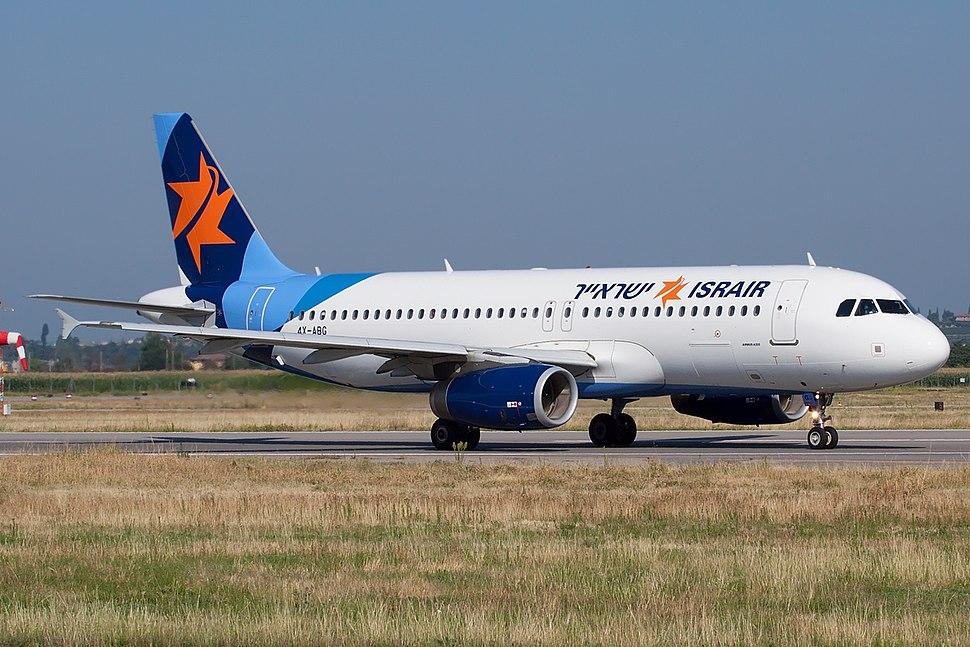 Airbus A320-232, Israir JP7662896