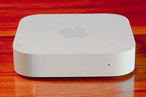 AirPort Express - The redesigned AirPort Express released in 2012