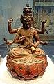 Aizen Myoo, Japan, Kamakura period, 1293 AD, wood, color, gold - Freer Gallery of Art - DSC04806.jpg