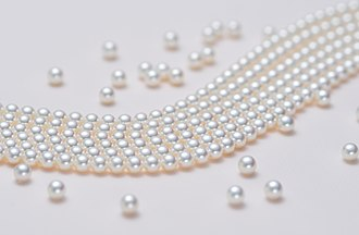Cultured pearl - Cultured Akoya pearls